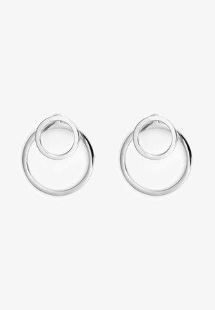 Heideman EAR JACKET 2 -IN -1 - Pendientes - silver-coloured - Zalando.es