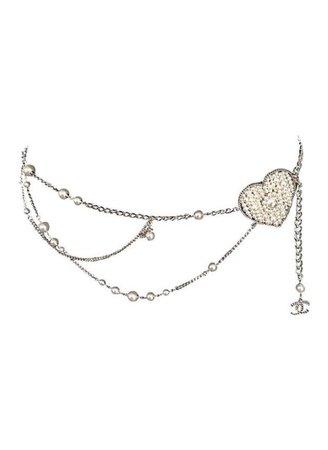 heart belt chain Y2k