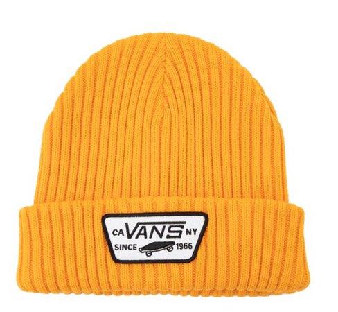 yellow vans beanie