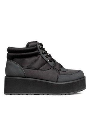 Platform trainers - Black - | H&M GB