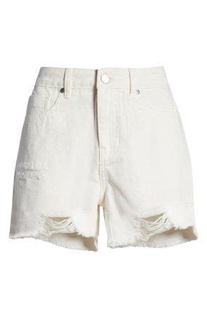 Destroyed Denim Shorts | Nordstrom