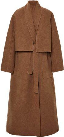 Agnona Convertible Camelhair Vest Coat