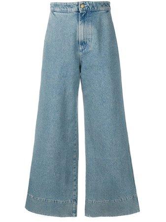 Loewe Wide Leg Jeans | Farfetch.com