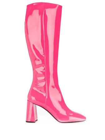 Prada patent boots 85 $1,200 - Buy Online AW19 - Quick Shipping, Price