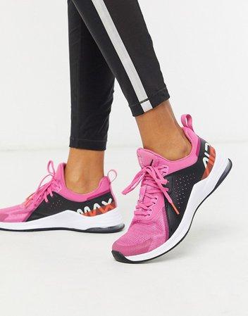 Nike Training Air Max Bella 3 sneakers in pink | ASOS