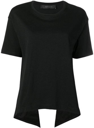 Federica Tosi cut-out ruffled T-shirt