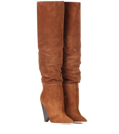 Niki 105 suede boots