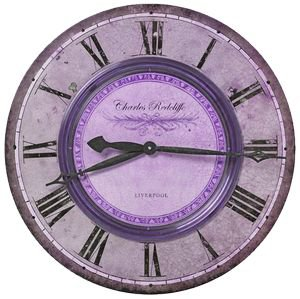 purple png filler clock