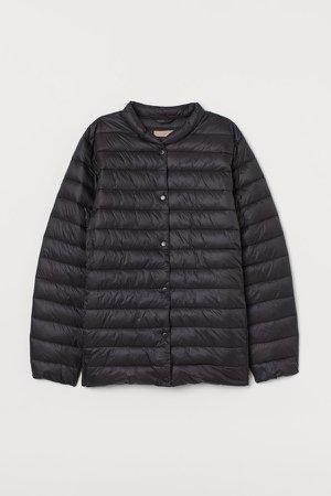 H&M+ Padded Puffer Jacket - Black