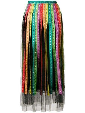 Gucci rhinestone rainbow skirt $8,900 - Buy Online SS19 - Quick Shipping, Price