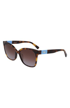 Longchamp 55mm Gradient Sunglasses   Nordstrom
