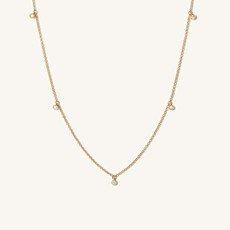Diamonds Station Necklace   Mejuri