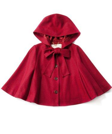 Chaperone Rouge Hood Cape Jacket - Jane Marple