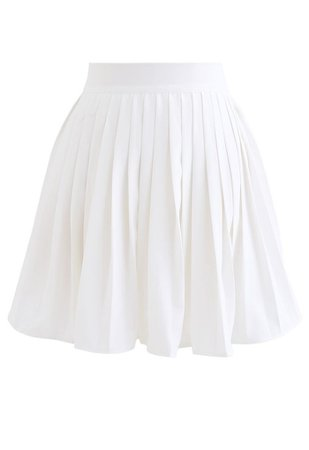 Pleated Mini Skirt in Purple - Retro, Indie and Unique Fashion