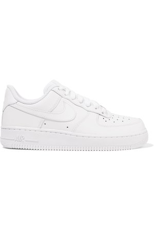 White Air Force I leather sneakers | Nike | NET-A-PORTER