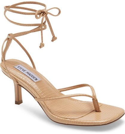 Steve Madden Lori Lace-Up Sandal (Women) | Nordstrom