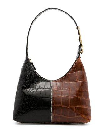 STAUD crocodile-effect Leather Mini Bag - Farfetch