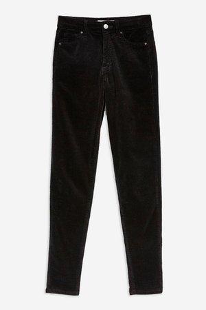 Black Corduroy Jamie Jeans | Topshop
