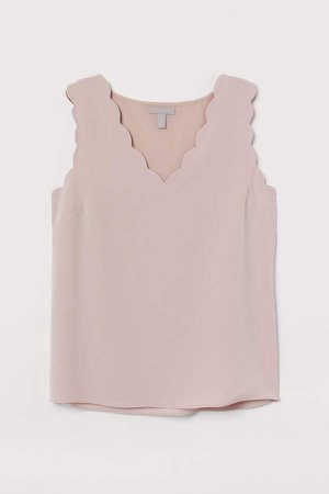 Sleeveless Blouse - Pink