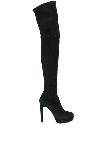 Casadei Over The Knee Heeled Boots - Farfetch