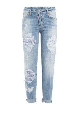 Distressed Boyfriend Jeans Gr. IT 42