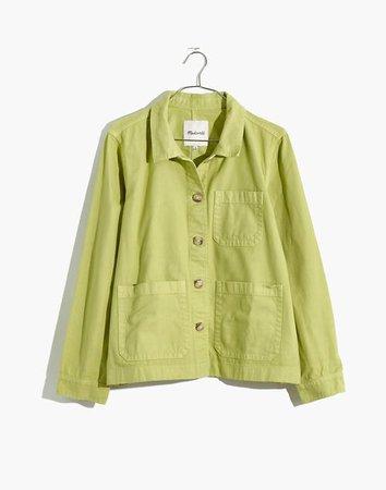 Garment-Dyed Ashwood Chore Coat