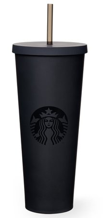 starbucks matte black cup