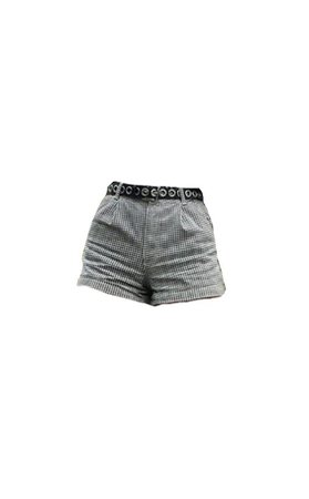 shorts with belt png