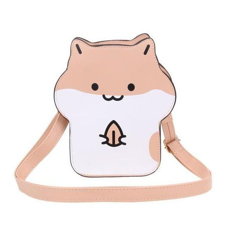 Hamster Gerbil Squirrel Handbag Purse Kawaii Cute | Kawaii Babe