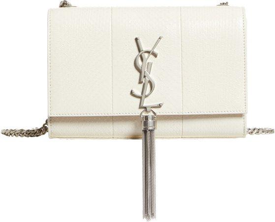 Small Kate Genuine Snakeskin Crossbody Bag