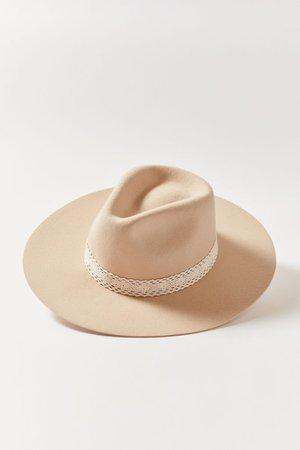 Ribbon Felt Panama Hat   Urban Outfitters