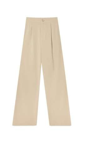 Wide leg trousers - Women's Just in | Stradivarius United States