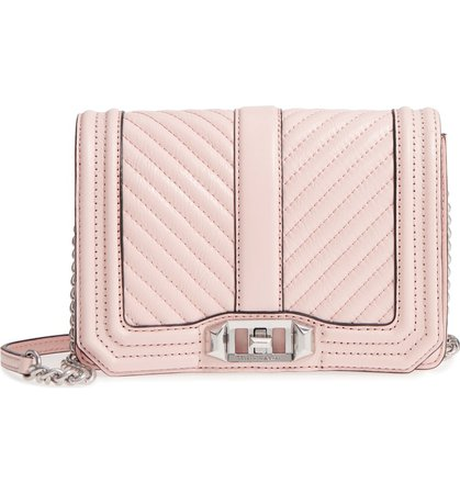 Rebecca Minkoff Small Love Leather Crossbody Bag | Nordstrom