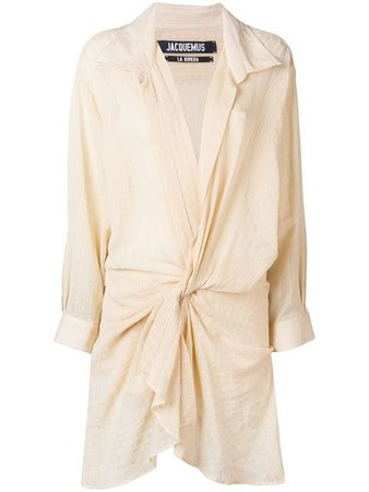 Jacquemus Alassio shirt dress $793 - Buy Online SS19 - Quick Shipping, Price