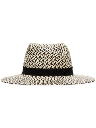Maison Michel Virginie Panama Hat Ss20 | Farfetch.com