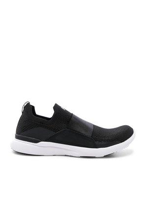 APL: Athletic Propulsion Labs Techloom Bliss Sneaker in Black & White   REVOLVE
