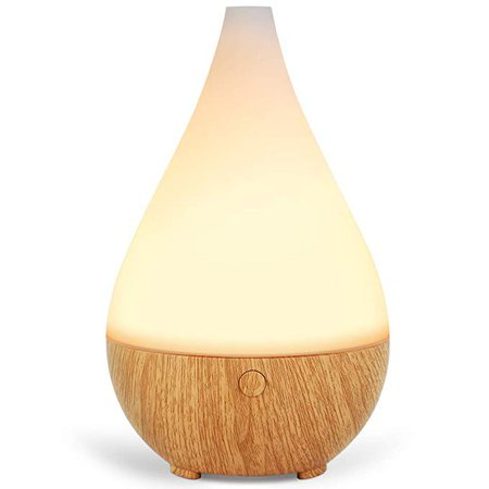Amazon.com : InnoGear 300ml Essential Oil Diffuser, Aroma Essential Oil Cool Mist Humidifier Ultrasonic Aromatherapy Diffusers Waterless Auto Shut-off, Night Light for Home Office Baby : Beauty