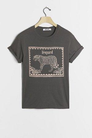 Leopard Graphic Tee   Anthropologie