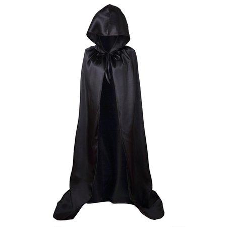 Colorful House Unisex Full Length Hooded Cape Christmas Costume Cloak [1540901568-66748] - $11.84