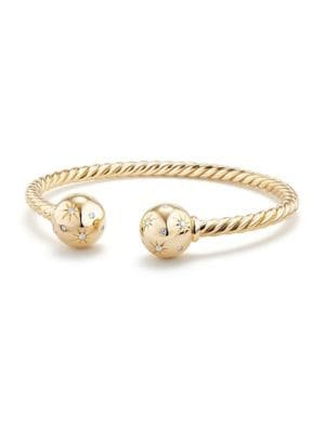 David Yurman - Bead Bracelet with Gemstone in 18K Gold - saks.com