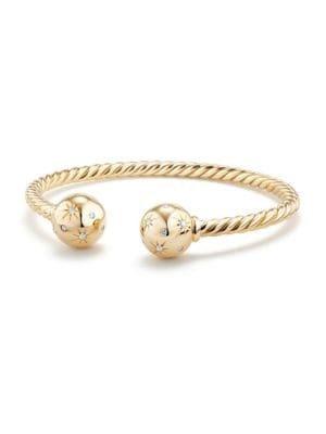 David Yurman - Bead Bracelet with Gemstone in 18K Gold - saks.com