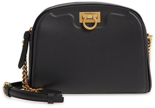 Trifolio Leather Crossbody Bag