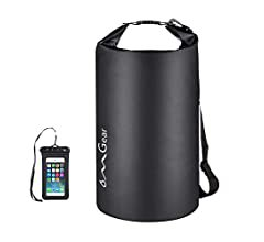 Amazon.com : OMGear Waterproof Dry Bag Backpack Waterproof Phone Pouch 40L/30L/20L/10L/5L Floating Dry Sack for Kayaking Boating Sailing Canoeing Rafting Hiking Camping Outdoors Activities (camouflage1, 30L) : Sports & Outdoors