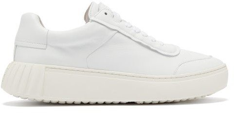 Primury - Frank Low-top Leather Trainers - White