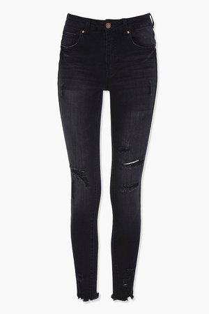 Distressed Skinny Jeans | Forever 21