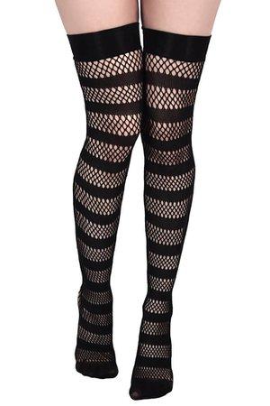 Shena Fishnet Stockings [B] | KILLSTAR - US Store