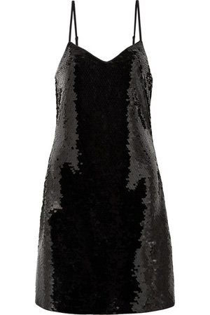 MICHAEL Michael Kors | Paillette-embellished jersey mini dress | NET-A-PORTER.COM