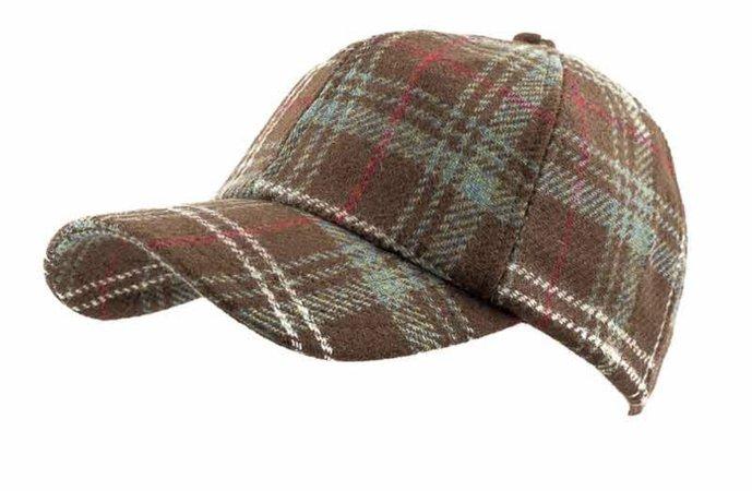 Brown Tartan Hat