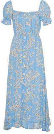 Ina Floral Midi Dress