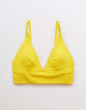 Longline Triangle Bikini Top